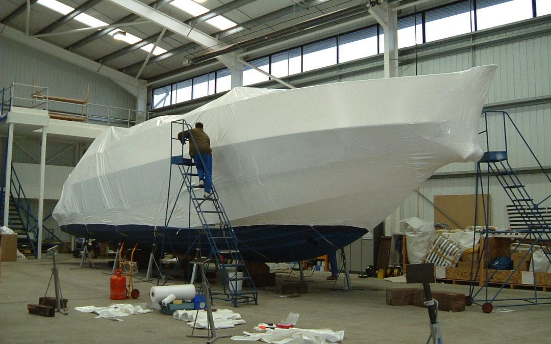 Wat zijn de voordelen van het inkrimpen van uw boot?
